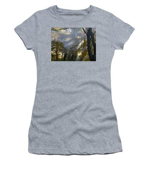 Women's T-Shirt (Junior Cut) featuring the photograph Sunbeam Morning by Dianne Cowen