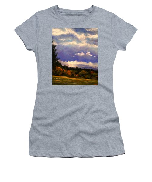 Sunburst At Ridgefield Refuge Women's T-Shirt