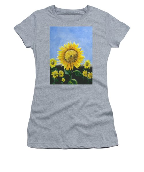 Sunflower Series One Women's T-Shirt (Athletic Fit)