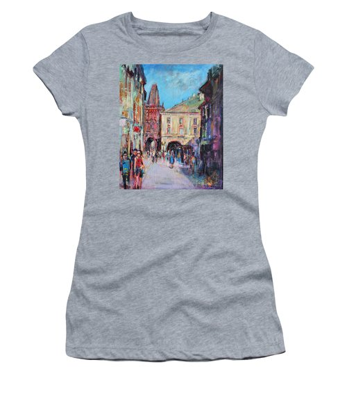 Sunny Side  Prague Women's T-Shirt