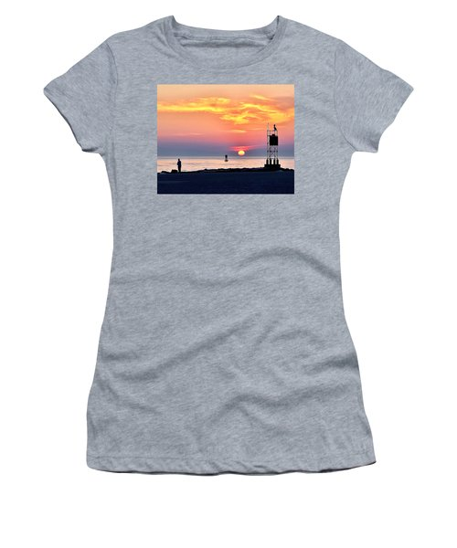 Sunrise At Indian River Inlet Women's T-Shirt