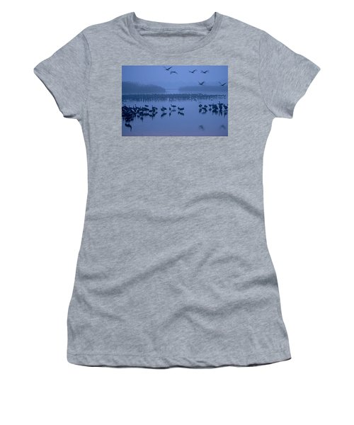 Sunrise Over The Hula Valley Israel 4 Women's T-Shirt (Athletic Fit)