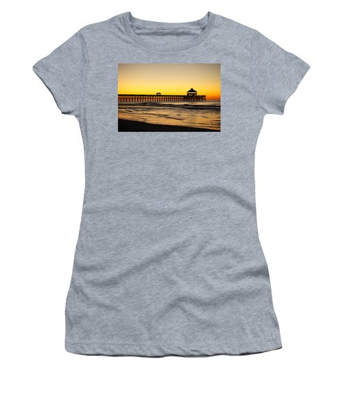 Sunrise Pier Folly Beach Sc Women's T-Shirt
