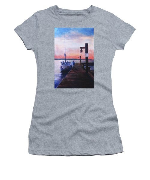 Sunset At Rocky Point Women's T-Shirt