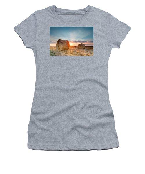 Sunset Bales Women's T-Shirt