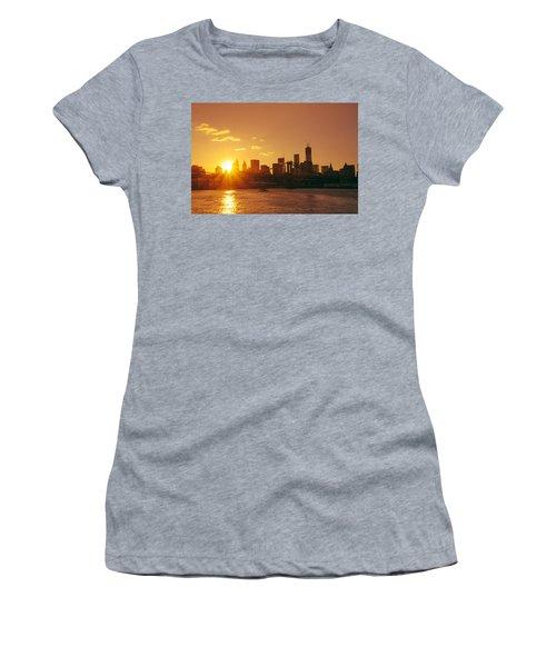 Sunset - New York City Women's T-Shirt (Athletic Fit)