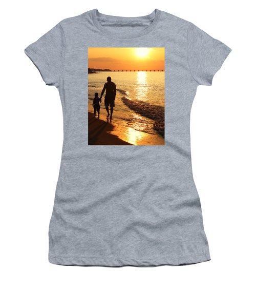 Sunset Stroll Women's T-Shirt
