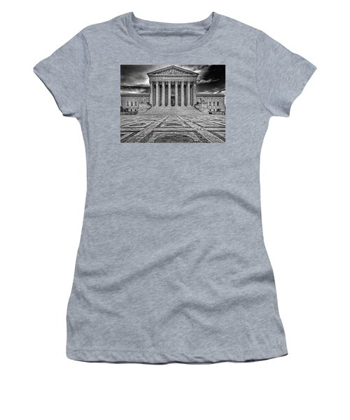 Women's T-Shirt (Junior Cut) featuring the photograph Supreme Court by Peter Lakomy
