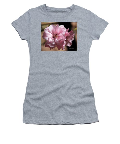 Sweet Blossoms Women's T-Shirt (Athletic Fit)