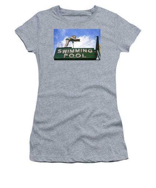Swimming Pool Women's T-Shirt