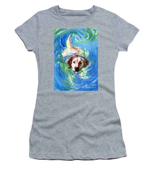 Swirl Pool Women's T-Shirt (Athletic Fit)