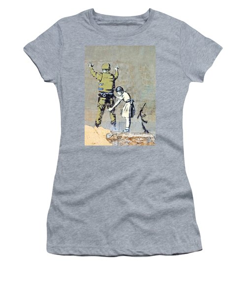 Switch Roles Women's T-Shirt (Athletic Fit)