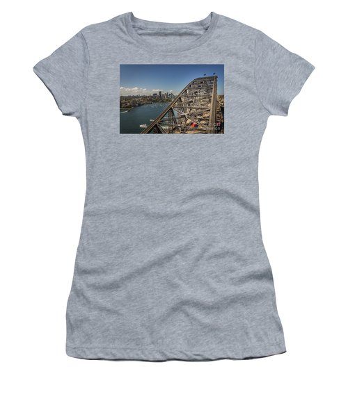 Sydney Harbour Bridge Women's T-Shirt (Athletic Fit)