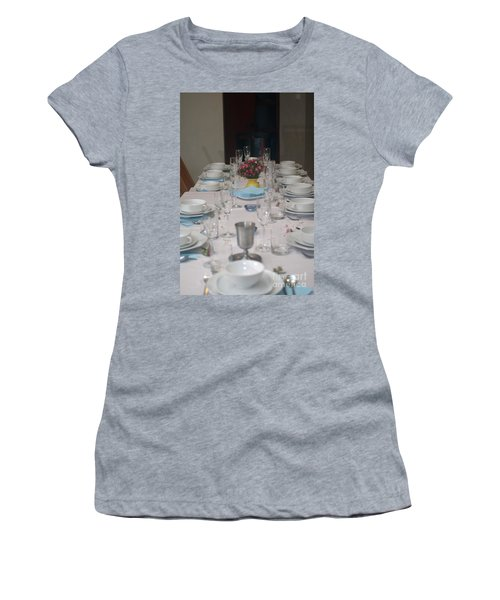 Table Set For A Jewish Festive Meal Women's T-Shirt