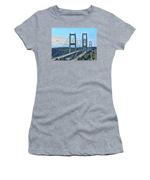 Tacoma Narrows Bridge 51 Women's T-Shirt