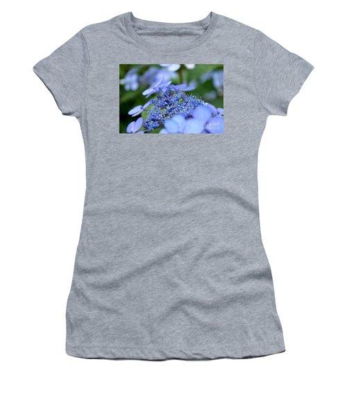 Taube Lacecap Hydrangea Women's T-Shirt