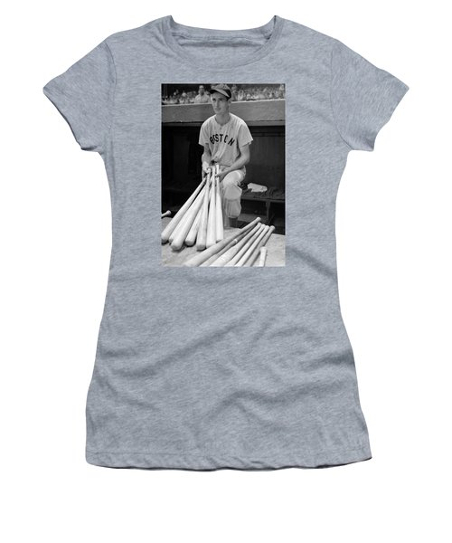 Ted Williams Women's T-Shirt (Athletic Fit)
