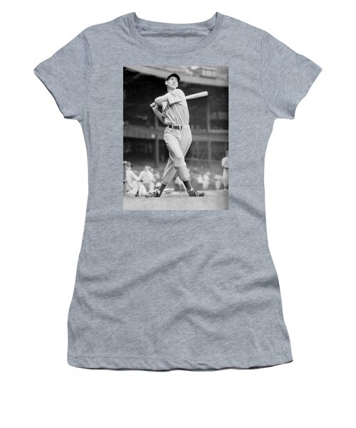 Ted Williams Swing Women's T-Shirt (Athletic Fit)