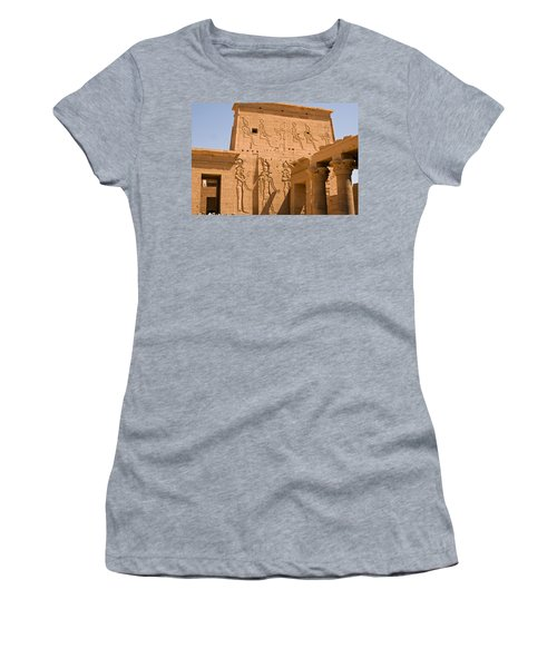 Temple Exterior Women's T-Shirt (Athletic Fit)