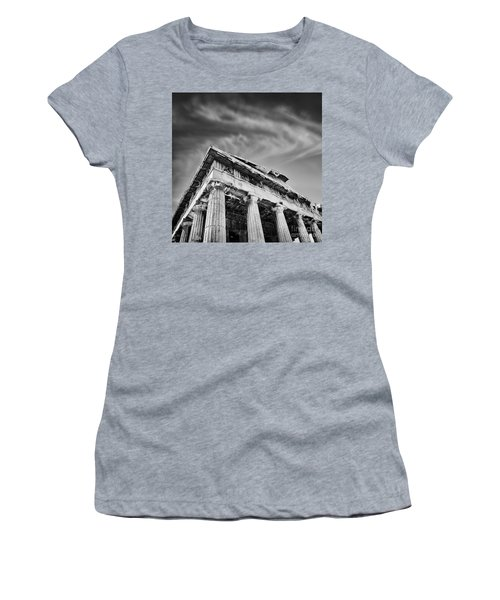 Temple Of Hephaestus- Athens Women's T-Shirt
