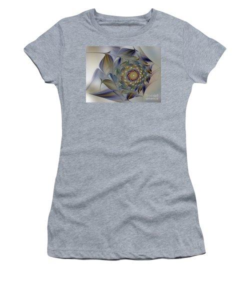 Tender Flowers Dream-fractal Art Women's T-Shirt
