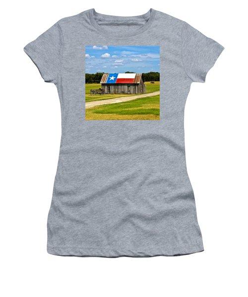 Texas Barn Flag Women's T-Shirt