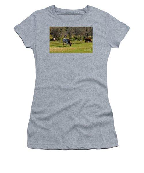 Texas Longhorns Women's T-Shirt (Athletic Fit)