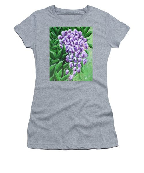 Texas Mountain Laurel Women's T-Shirt (Athletic Fit)