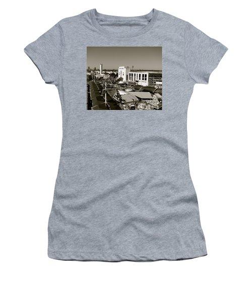 Texas State Fair II Women's T-Shirt (Junior Cut) by Anita Lewis