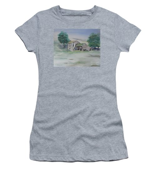 The Abandoned House Women's T-Shirt (Junior Cut) by Martin Howard