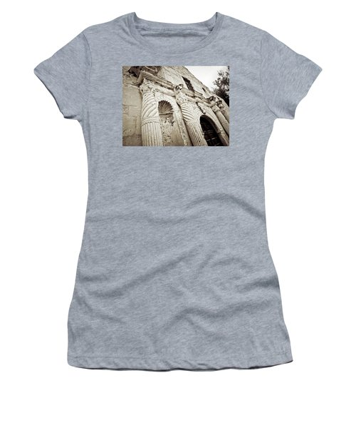 The Alamo Women's T-Shirt (Junior Cut) by Linda Unger