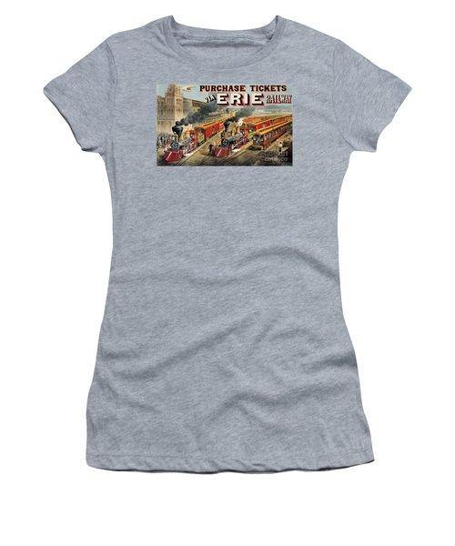 The American Railway Scene  Women's T-Shirt