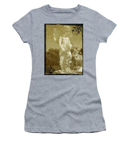 The Angel - Art Nouveau Women's T-Shirt (Junior Cut) by Absinthe Art By Michelle LeAnn Scott