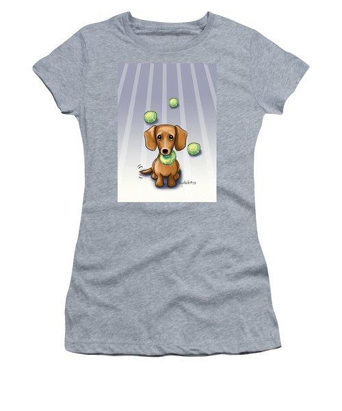 The Ball Catcher Women's T-Shirt