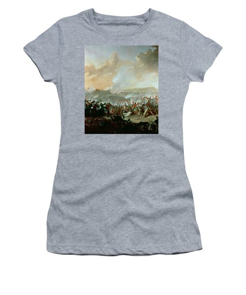 The Battle Of Waterloo, 18th June 1815 Oil On Canvas Detail Of 209202 Women's T-Shirt