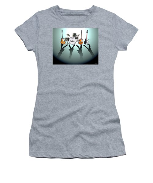 The Beatles Women's T-Shirt (Athletic Fit)