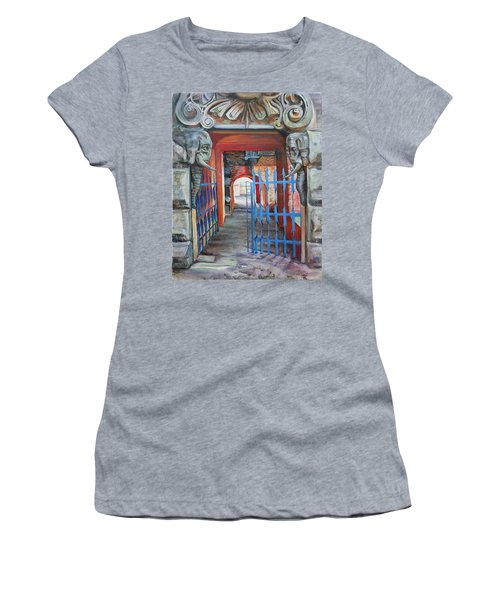 The Blue Gate Women's T-Shirt (Athletic Fit)