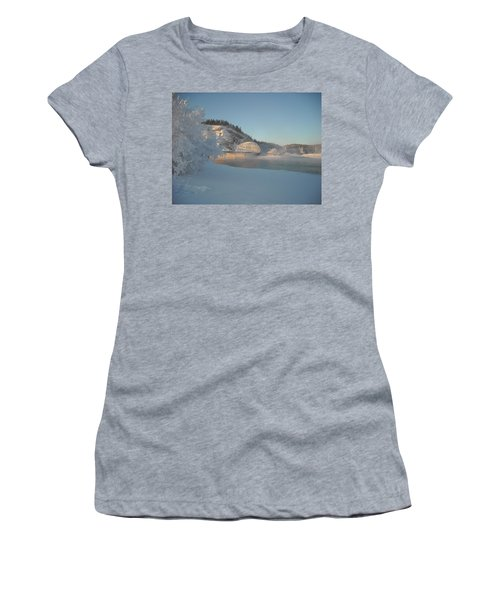 The Bridge At Big Delta 2 Women's T-Shirt (Athletic Fit)