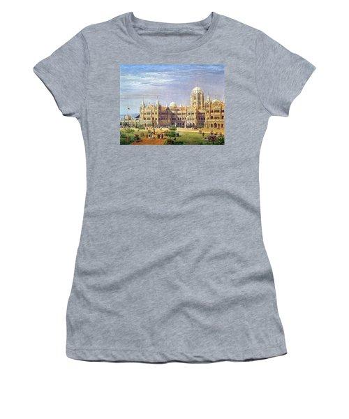 The British Raj Great Indian Peninsular Terminus Wc On Paper Women's T-Shirt