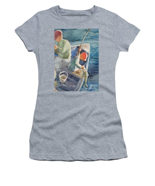 The Catch Women's T-Shirt (Athletic Fit)