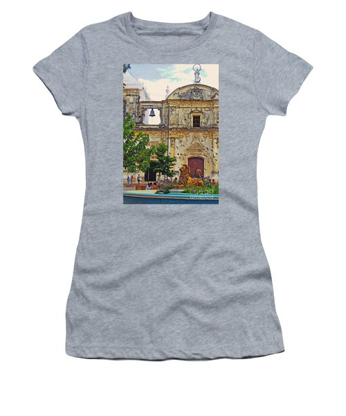 The Cathedral Of Leon Women's T-Shirt (Athletic Fit)