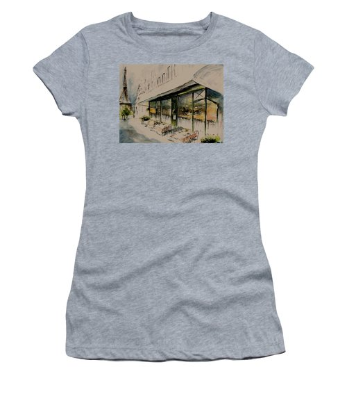 The Champs Elysees Women's T-Shirt (Athletic Fit)