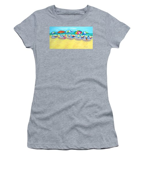 The Color Of Summer  Women's T-Shirt (Athletic Fit)