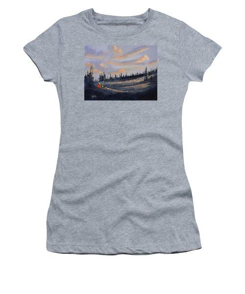 The Days End Women's T-Shirt (Junior Cut) by Richard Faulkner