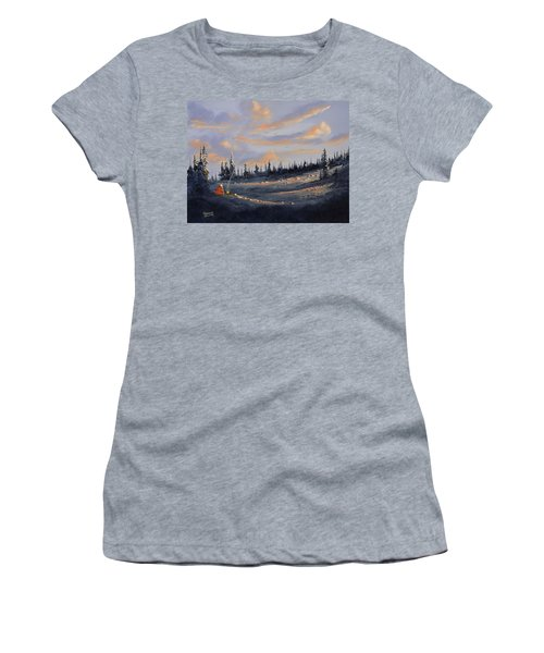 The Days End Women's T-Shirt (Athletic Fit)