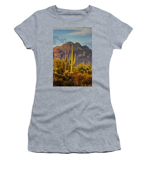 The Desert Golden Hour II  Women's T-Shirt