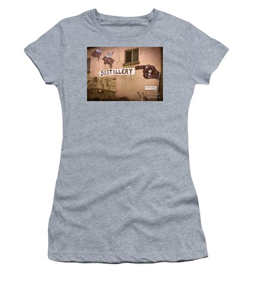 The Distillery Women's T-Shirt (Athletic Fit)