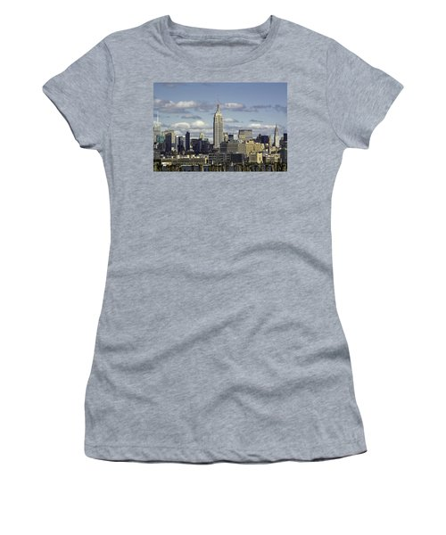 The Empire State Building 2 Women's T-Shirt (Athletic Fit)