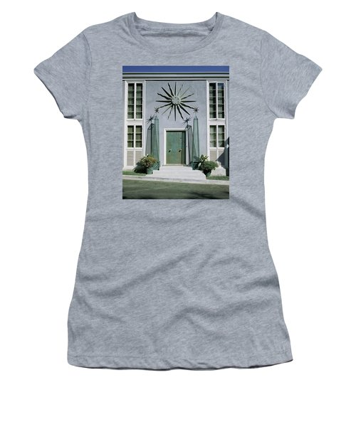 The Facade Of Tony Duquette's House Women's T-Shirt