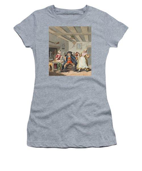 The Farmers Return, Illustration Women's T-Shirt